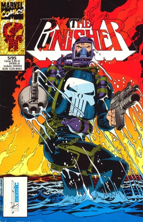 Punisher 05/1995 – Firefight; G-Force; The unfriedly skies